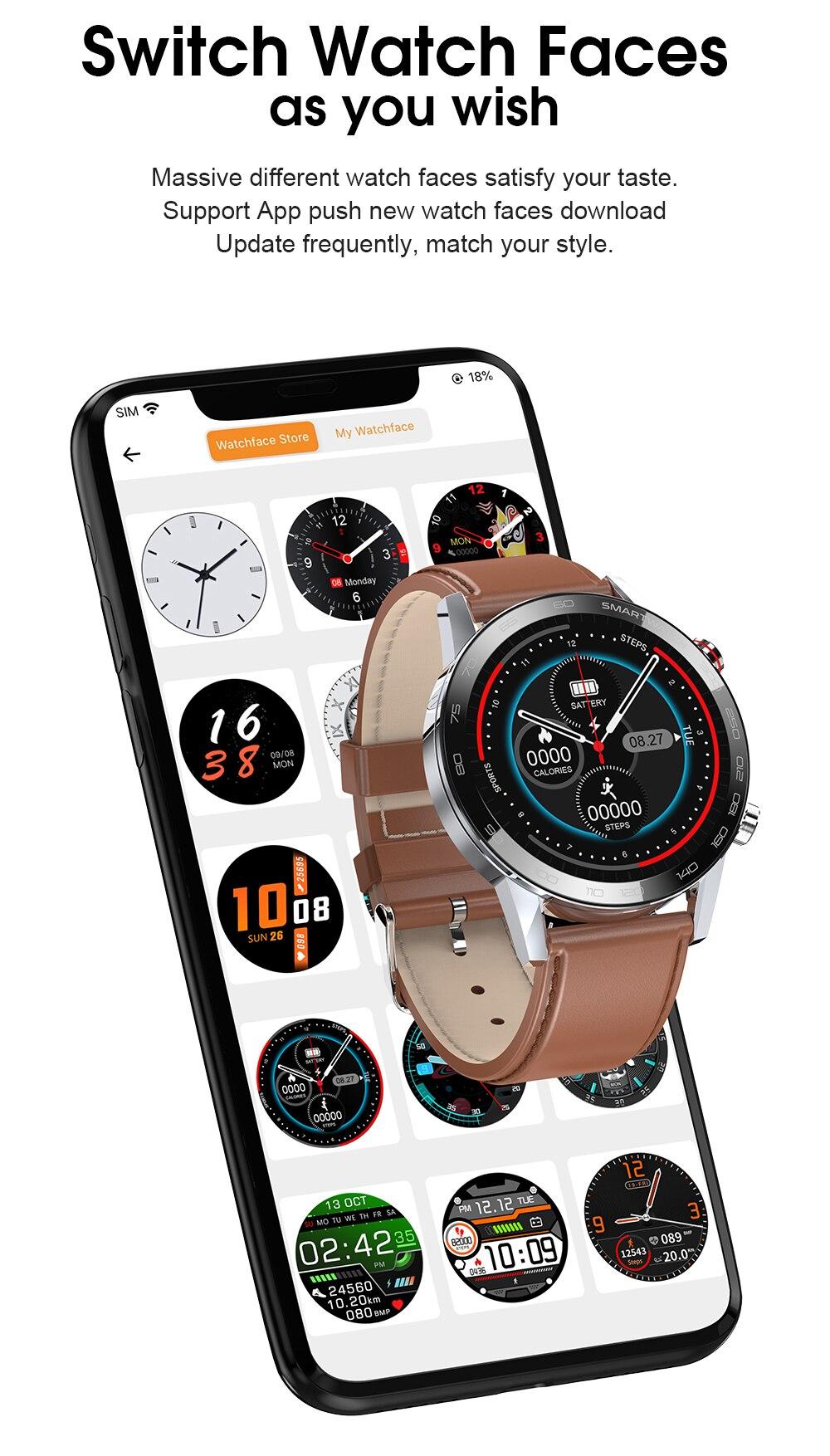 He1ddb57179d24b0f81e93ba83ad3ac82B Reloj Inteligente Hombre Smartwatch Ecg Ppg IP68 Smarthwatch Men Full Touch Smart Watch 2020 For Huawei Xiaomi Android Apple IOS