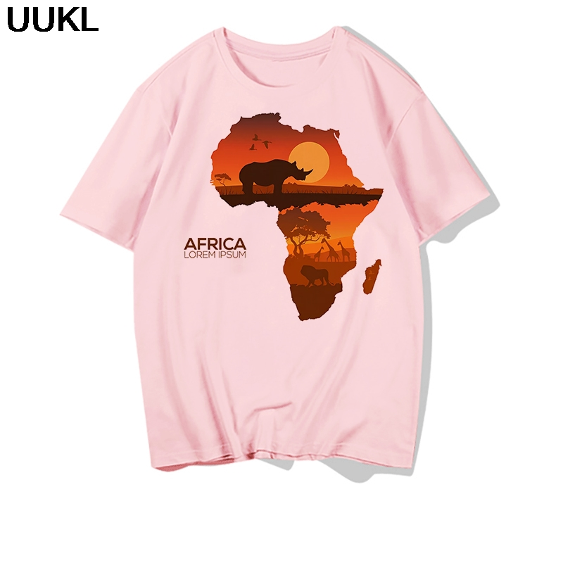 He1ddc7d96ace4e5d888d2c7acdac1283f - Poleras Mujer De Moda Summer Female T-shirt Harajuku Letter African Plate T Shirt Leisure Fashion Tshirt Tops Hipster Shirt