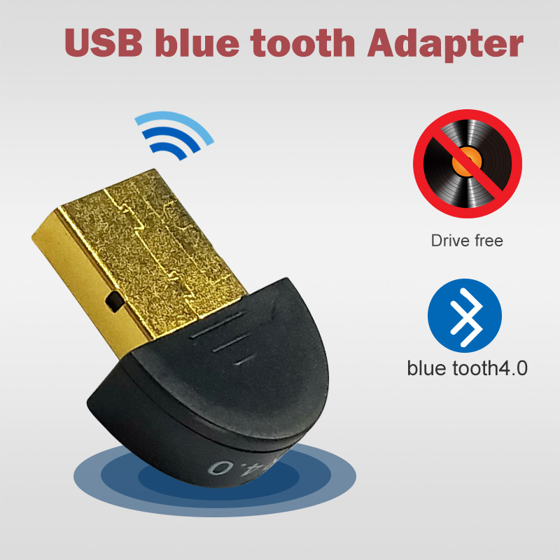 for bluetooth usb adapter dongle 4.0 computer pc headphones <font><b>tv</b></font> headphone speaker fone audio <font><b>carro</b></font> 3.5mm mouse receiver image