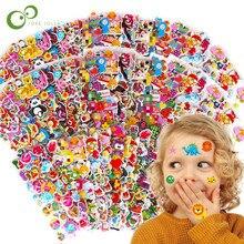6 folhas misturadas dos desenhos animados bolha adesivos transporte carros crianças crianças meninas & meninos dos desenhos animados adesivos decoração natal presente gyh