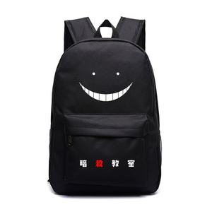 Image 2 - Korosensei المرأة لطيف على ظهره أنيمي Bookbag اغتيال الفصول الدراسية حقائب للمراهقين الفتيات قطون السفر على ظهره