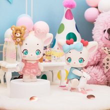 Cute toy authentic deer almond happy party series blind box trend doll decoration gift