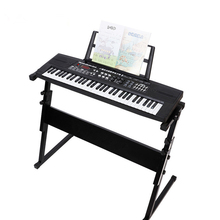 Electronic Piano Rack Adjustable Black Heightening Stand Keyboard Instrument Sup