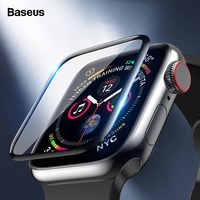 Baseus 0.2mm protecteur d'écran pour iWatch i Watch 4 40mm 44mm couverture complète Film de protection souple pour Apple Watch 4 3 2 1 38mm 42mm