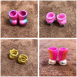 1 Pair Original L.O.L. SURPRISE! Mini Colorful Boots Shoes For LOL 8cm Big Sister Doll DIY Doll Accessory Kids Birthday Gift Toy(China)