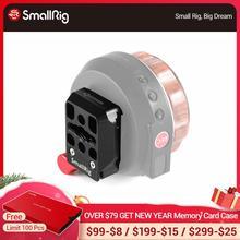 SmallRig Abrazadera de liberación rápida para Tilta Nucleus abrazadera de placa de transferencia de controlador de rueda manual Nano con agujeros de roscado 2323