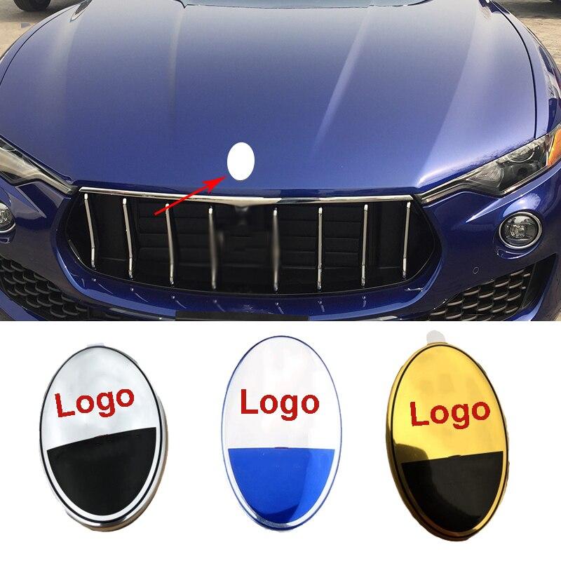Эмблема для Maserati Levante Quattroporte ghiдоступ Gran Туризм Cabrio GC GT значок на переднюю капот автомобиля наклейки автостикеры Стайлинг