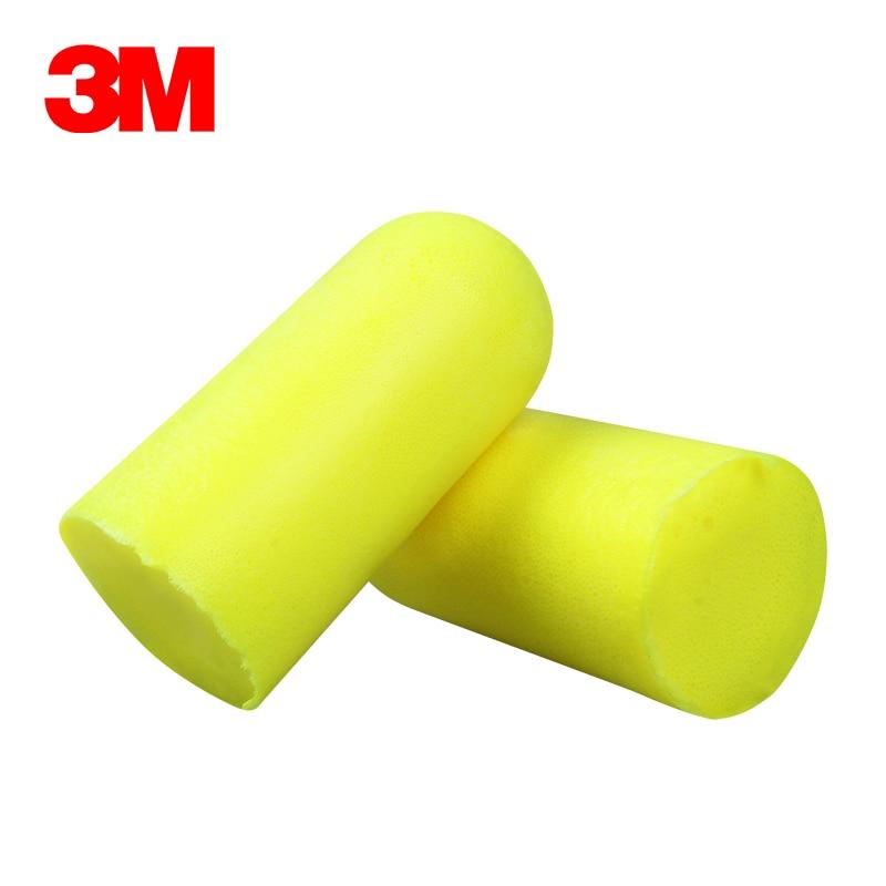 Ушные вкладыши 3M E-A-RSoft желтые неоновые 312-1250 эластичные Беспроводные с шумоподавлением NRR:33dB/SNR:36dB LT086-1