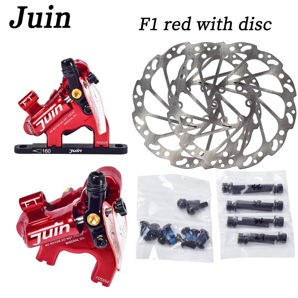 Juin Tech F1 для велокросса СХ, велосипедные дисковые тормоза, суппорты с плоским адаптером, дорожный тормозной суппорт для велосипеда, набор с 160