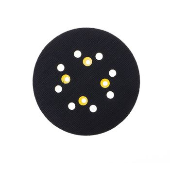 5 pulgadas 125 MM 8 MM-agujero de lijado Pad 4 gancho tipo clavo y bucle Sander respaldo Pad para amoladora eléctrica Accesorios de herramientas eléctricas