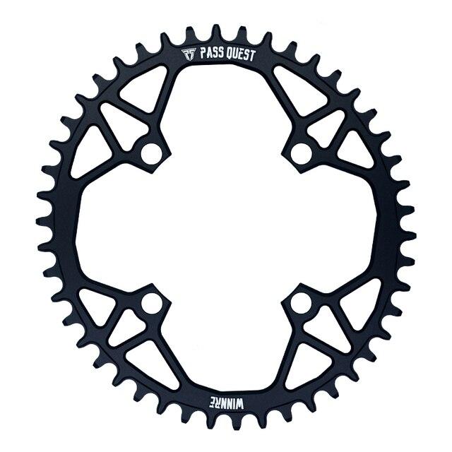 Купить велосипедная цепь pass quest 104bcd mtb овальная узкая широкая картинки