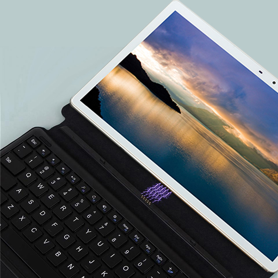 Image 2 - 2 In 1 Tablet Laptop 11.6 Inch android tablet pc 10 cores 1920*1080 gaming Tablets gps wifi 4G sim card call phone With Keyboard-in Tablets from Computer & Office