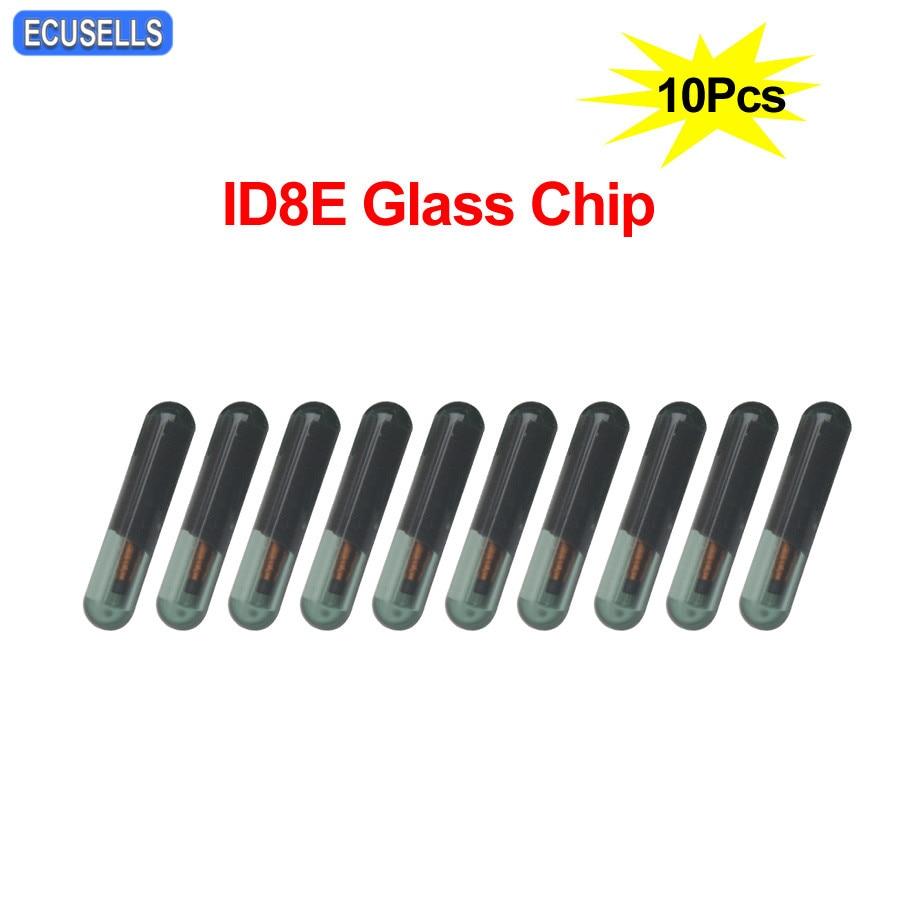 10PCS GLASS ID8E transponder Chip For Honda Audi ID8E Transponder chip