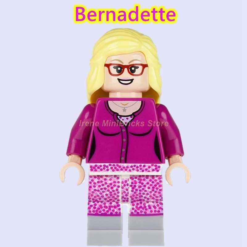 Figuras TV Sheldon TBBT Leonard Penny Amy Rajesh Howard e Bernadette SpiderMan Marvel Building Blocks Brinquedos Modelo Para As Crianças