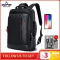 Рюкзак BOPAI мужской для ноутбука 15,6 дюйма с защитой от кражи и USB-зарядкой