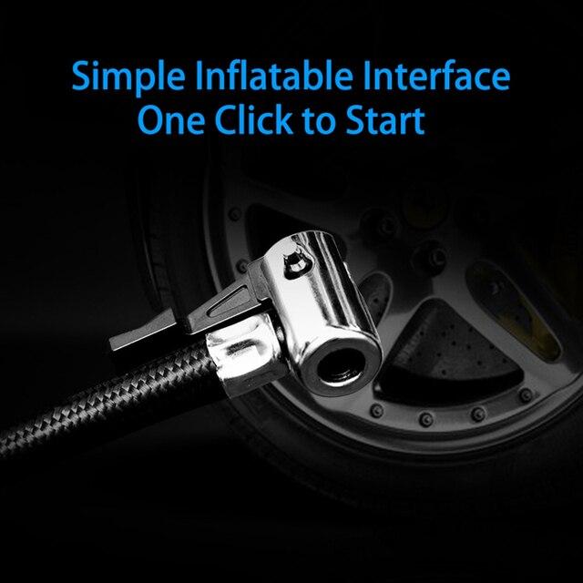 Compresseur Air 12V Portable voiture gonfleur dair pompe écran tactile Intelligent LED affichage Auto pneu gonfleur électrique pompe à Air nouveau