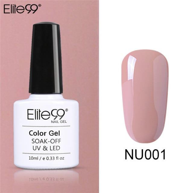 Elite99 Gel Polish Set UV Vernis Semi Permanent Primer Top Mantel 10ML Nude Gel Lack Nagel Kunst Maniküre Gel lak PolishesNails