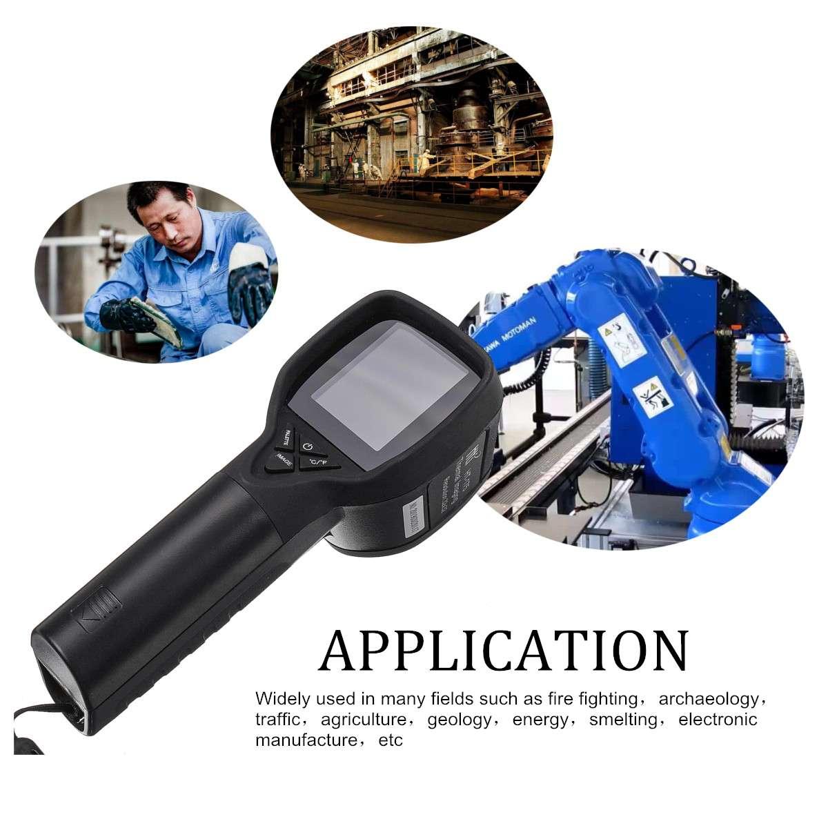 1089P caméra d'imagerie thermique infrarouge portable IR imageur thermique infrarouge affichage numérique haute résolution infrarouge