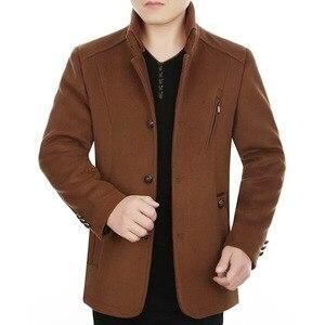 2019 men cloth coat collar fas