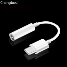 TYPE-C Audio Earphone Adapter TO 3.5MM Headphone USB-C Converter for Huawei P20 Mate 10 Pro AUX Jack Cable for Xiaomi Mi 8 6X 6 new type c 3 5 jack earphone cable usb c to 3 5mm aux headphone audio adapter for huawei mate 10 p20 pro xiaomi mi 6 8 6x mix 2s