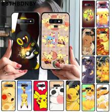 Phone CaseCool picachu Custom Photo Soft fundas Phone Case for Samsung S9 plus S6 edge plus S7 edge S8 plus S10 plus(China)