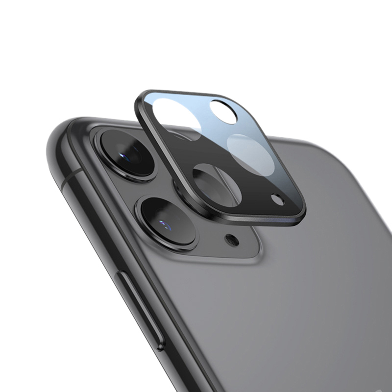 For IPhone 11Pro&11 Pro Max Full Cover Tempered Glass <font><b>Camera</b></font> Lens Screen Protector Mobile <font><b>Phone</b></font> <font><b>Accessories</b></font> image
