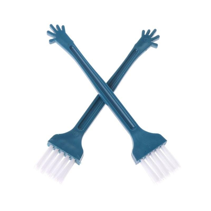Mini Desktop Broom Cleaning Brush Sweep Tool Desk Computer Keyboard Car Air Vent Office Home