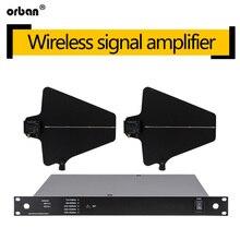 BS-845 Wireless Microphone Directional Antenna Amplifier U Segment Signal Enhancer