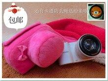 CamDress deep pink lightweight design Senior handmade Customized shock absorption photography bag for Sony Nikon Pentax