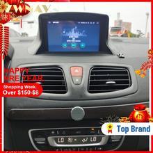 Android 10 для Renault Megane 3 Fluence 2009-2015 автомобильный стерео Мультимедийный плеер GPS Glonass навигация автомобильное аудио радио головное устройство