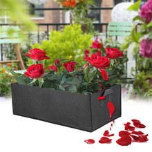 Fabric plant Grow Bag Garden Square gardening tools Flower Vegetable seeds Planting Planter Pot Handles for hydroponics 10pcs bag bauhinia flower seeds bauhinia tree butterfly tree rare orchid flower tree seeds fresh bauhinia purpurea seeds