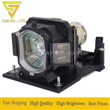 DT01431 Projector lamp for Hitachi CP-EW301N CP-EW302 CP-EX251N EX252N EX301N EX401 WX3030 WX3030WN Dukane ImagePro 8928A 8931WA цена в Москве и Питере