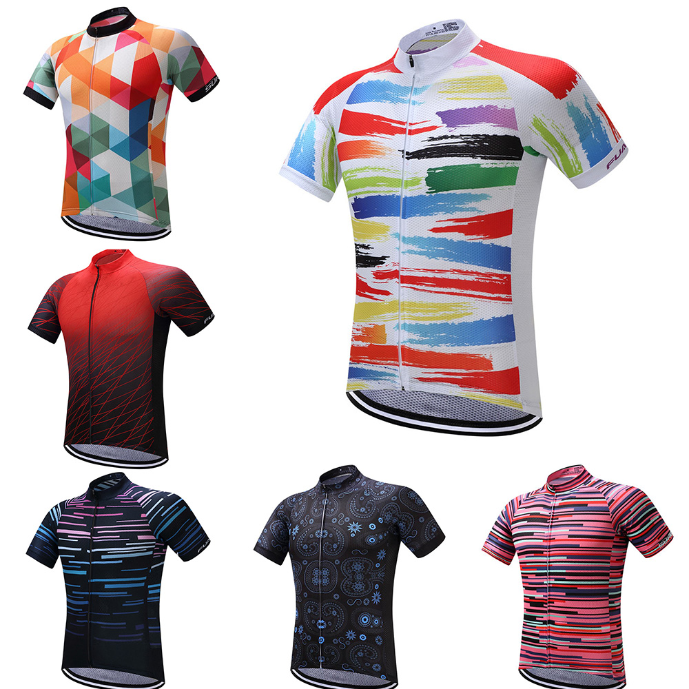 Summer Mens 2020 Pro Cycling Jersey Mountain Bike Sportswear Ropua Ciclismo Hombre Maillot Ciclismo Cycle Bicycle Top For MTB