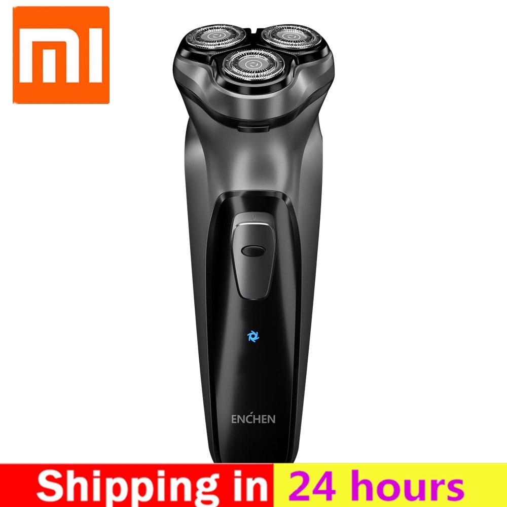 Xiaomi Enchen Black Stone 3D Electric Shaver For Men Rechargeable Flex Razor Blocking Protection Washable Rechargeable Shavers