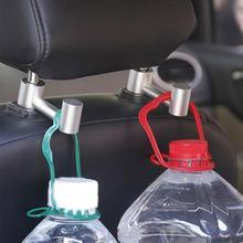 The New durable Car Vehicle Seat Back Headrest Aluminum Alloy Mount Hook Bag Hanger Organizer Automobile Interior Accessories