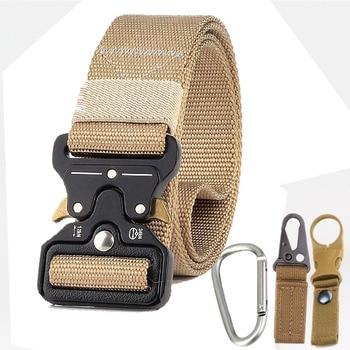 Military Uniform Belt Tactical Clothes Combat Suit Accessories Outdoor Tacticos Militar Equipment Army Clothing Waist Belt 10