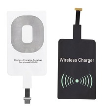 QI Wireless Charger Receiver for iPhone 6 6s 5 5C Samsung S6