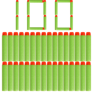 100PCS Darts For Nerf Soft Hollow Hole Head 7.2cm Refill Darts Toy Gun Bullets for Nerf Series Kid Children Gift