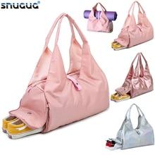 Gym Bag Wet Dry Yoga Mat Bag Fitness Bag For Women Outdoor Training Sa