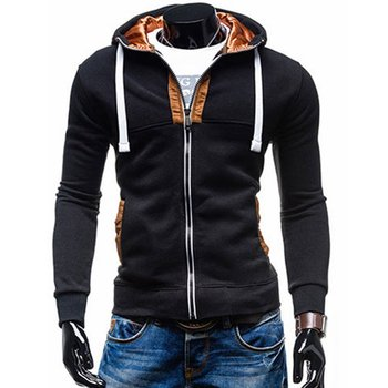 Mens Hoodies Autumn Winter Sexy Moletom Hip Hop Casual Harajuku Cotton Sweatshirts Loose Male Pullovers With Zipper Tops New
