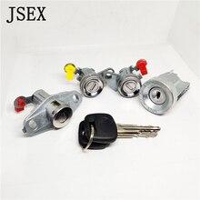69051 1234 door lock AE100 93 97 96 01 69051 1234/60 Ignition door lock trunk lock with keys For Corolla AE100 93 97