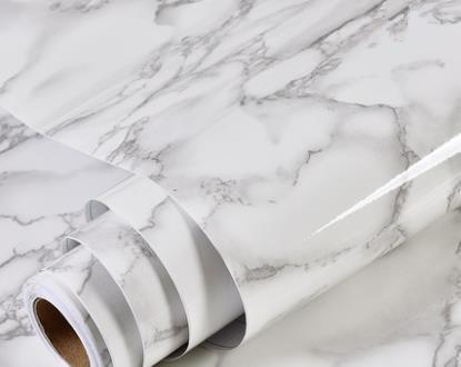 Thick Waterproof Pvc Imitation Marble Pattern Stickers Wallpaper Self-adhesive Wallpaper Living Room Furniture Renovation