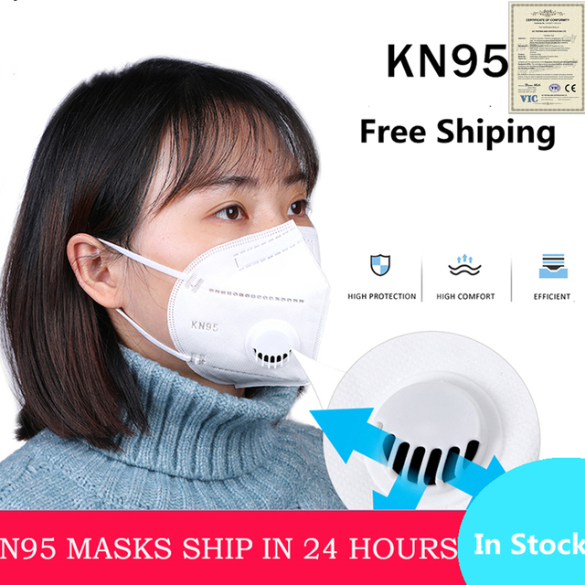 Reusable N95 Virus Respirator Mask 98% Protective Masque Face Mask Anti-pollution Antibacterial flu Mask From Kn95 Mouth Caps 2