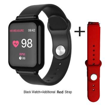 Reloj inteligente B57 con Bluetooth, pulsera inteligente deportiva B57C con control de la presión sanguínea y resistente al agua IP67