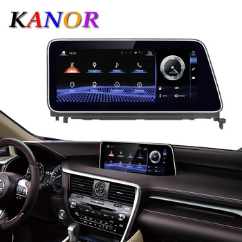 KANOR 12.3 Inch IPS Octa core CPU Android 9.0 4G RAM 64G ROM Car multimedia head unit stereo gps navi For Lexus RX350 RX450H