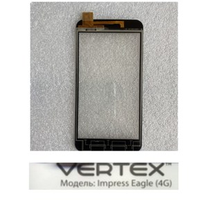 Image 3 - Pantalla táctil de 5,0 pulgadas para teléfono móvil, piezas de repuesto para Pantalla táctil frontal de reparación de digitalizador Vertex Impress Eagle 4G