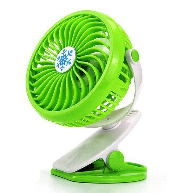 Desktop Fan, Portable Mini Fan, Personal Desk Fan, Quiet Fan, Charging Air, Cooler Stepless Speed Two-Way Rotary 360 Degrees (Gr thumbnail