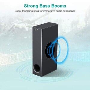 Image 3 - Barre de son pour Home TV, 120W, Bluetooth 5.0, haut parleurs sans fil, 3D stéréo, colonne Surround, caisson de basses avec télécommande