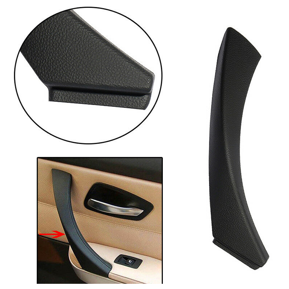 Right Door Panel Handle Pull Trim Cover 51419150336 Fit BMW 3 E90 Sedan Wagon