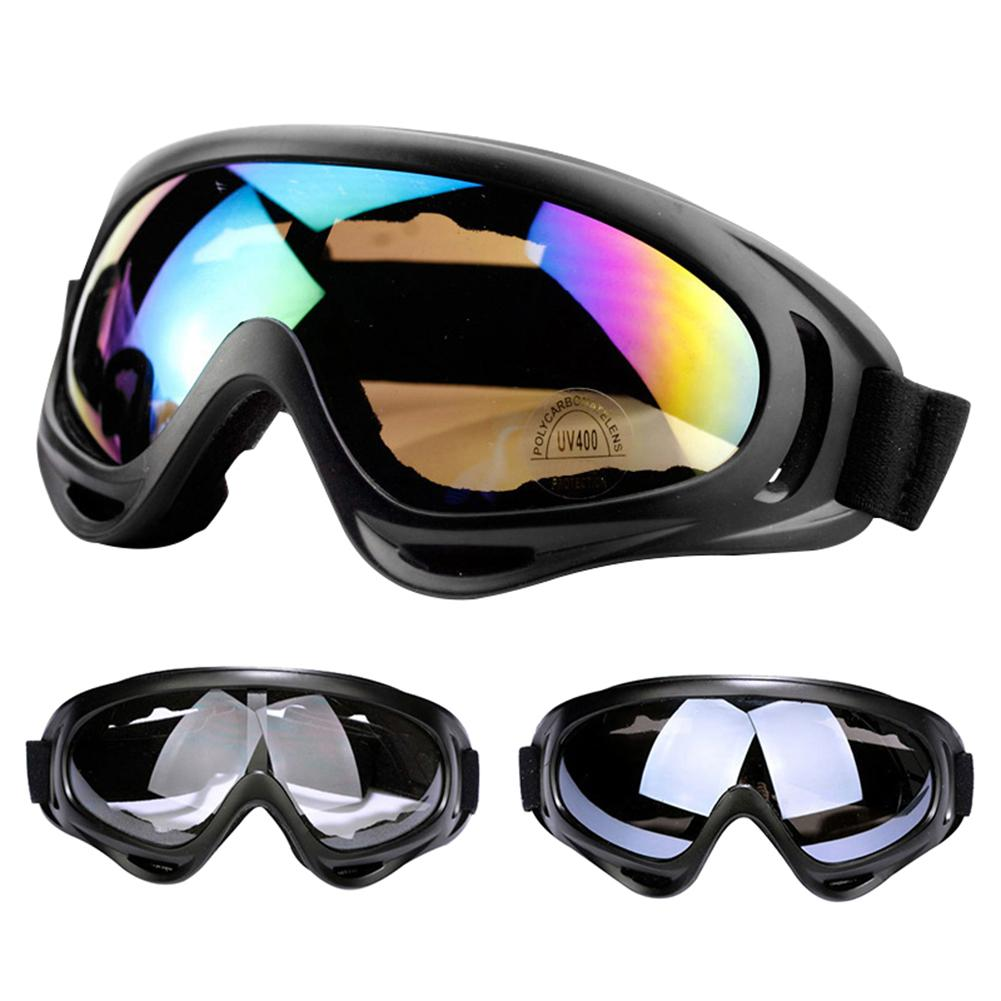2Pcs Winter Outdoor Ski Snowboard Googles UV Protection Anti-Fog Snow Goggles For Men Women Youth